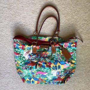 Dooney & Bourke Tropical Beach Bag
